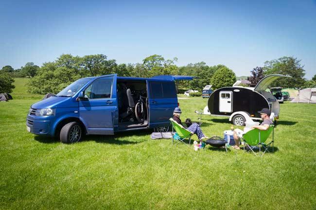 camping camper van